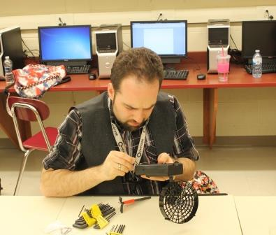 Mr. Oren Levi will look to use his knowledge of Engineering to help the school club.