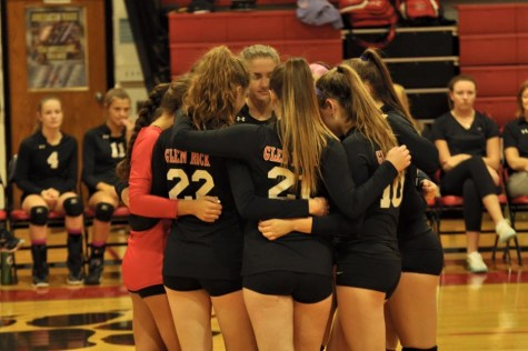 The girls' volleyball team played in the state sectional finals game on Thursday, Nov. 12.