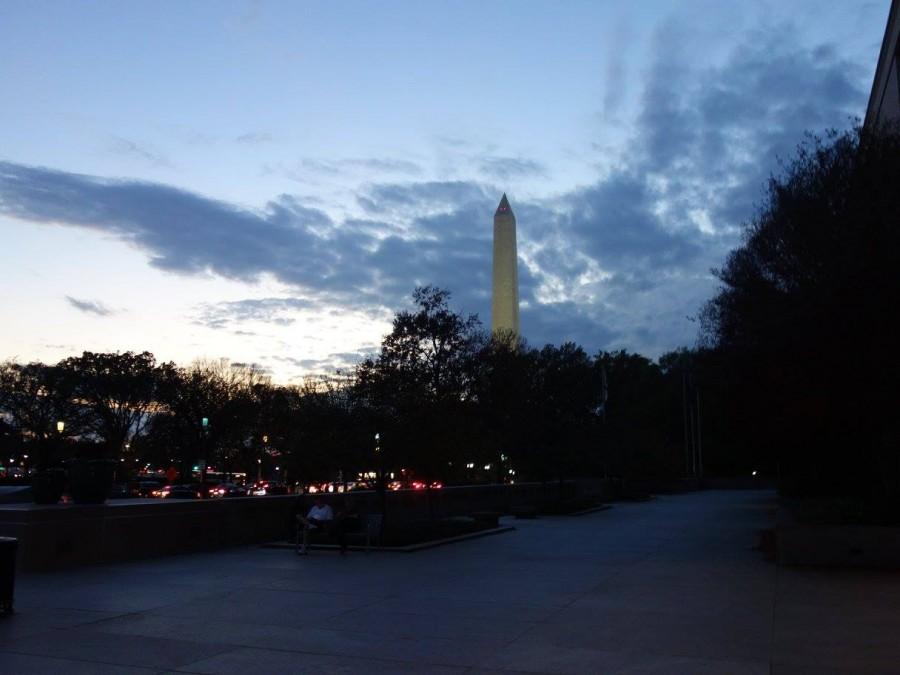 View of the Washington Monument in Washington D.C.