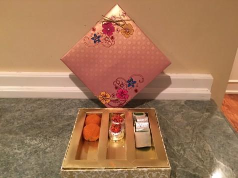 Beautiful Hindu treats eaten on Diwali