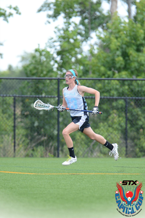 During the summer, Dill plays for Tri-State, a girl's lacrosse team geared towards getting college exposure and finding players the right home.