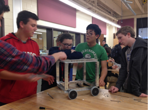 Robotics club hopes to compete at Liberty Science Center