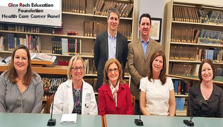 Dr. Adam Bloomfield, Dr. Robert Egermayer, Dr. Michelle Torpey, Nurse Christina Smith, Nurse Susan Becker, Dr. Joyce Johnson, Dr. Deborah Ungerleider, careel panel speakers.