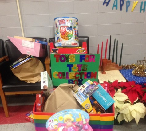 Toys-for-Tots drive collects presents for the holidays