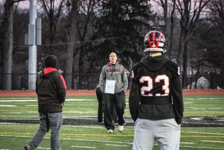 To win against Mahwah, Glen Rock football has been practicing intently over the past two weeks.  The game will take place today at MetLife Stadium at 5 p.m.