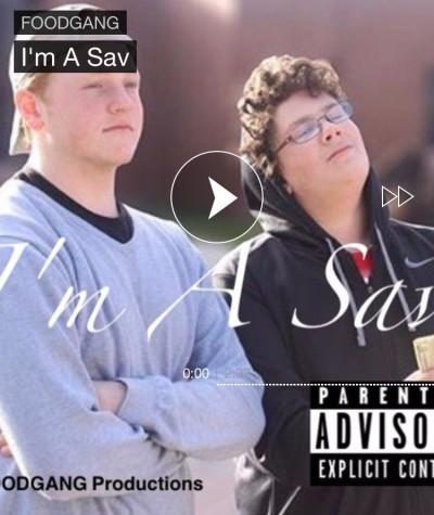 'I'm a Sav' single cover.