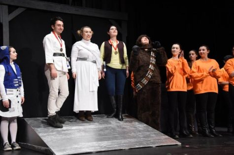 Seniors give farewell to the Theatre Company