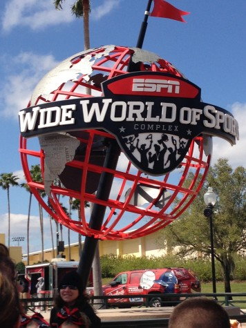 ESPN Wide World of Sports All-Star Cheerleading competition in Florida was memorable for Christina and the team.