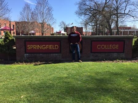 Lipsky visiting Springfield College after committing.