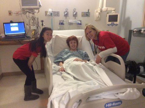 Chris underwent a kidney transplant on January 30, 2014