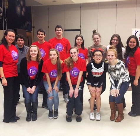 The GRHS Relay for Life committee members at kick-off on Feb. 9