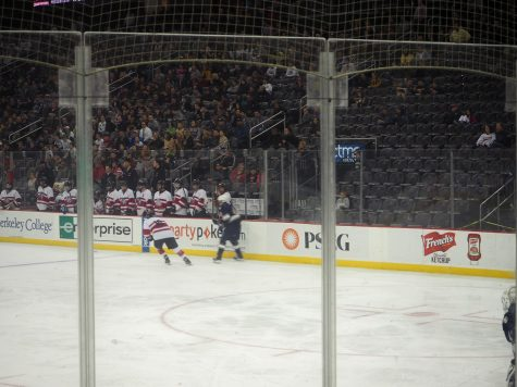Matt Maselli skates along the rights sidewall