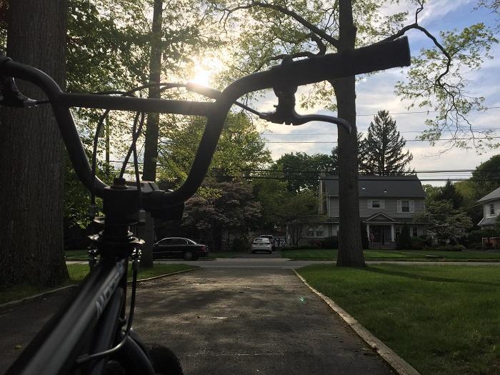 Damien Blando's stolen bike.