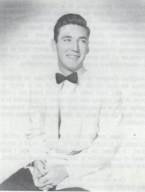 Ron Zier's Ridgewood High School graduation picture, Class of 1948.