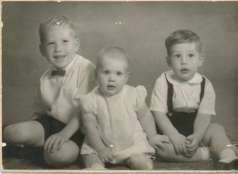 (Left to right) Ron, Ed, Jim Zier and Julie Kiess (nee Zier).