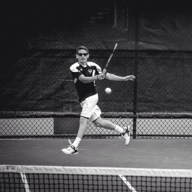 Jesse Weiss ('16) competed in second doubles with Eddie Corvelli throughout the year.