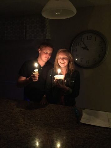 Jack and Sarah Harwick celebrating their sixteenth birthday last year on August 18th. Jack and Sarah have spent every birthday together since they were born. Sarah feels her birthday will not feel the same in the future if she can not spend it with Jack.