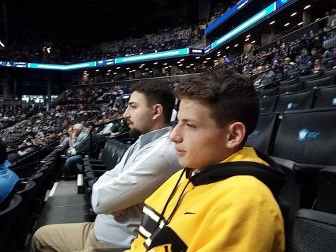 In March, Jesse and hist brother attended a Iowa University v. Temple University NCAA tournament basketball game at the Barclays Center.