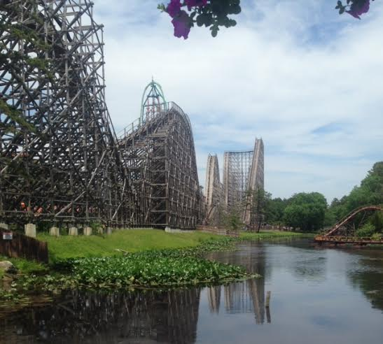 Six Flag's El Toro. It is one of the park's longest and fastest coasters.