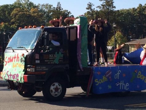 The Class of 2017 decorated their homecoming float to fit their South of the Boarder Sophomores theme back in 2014.