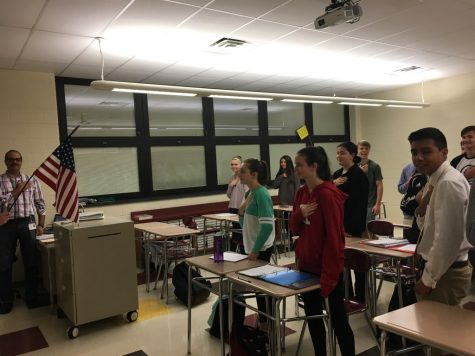 Students sit to protest racial discrimination