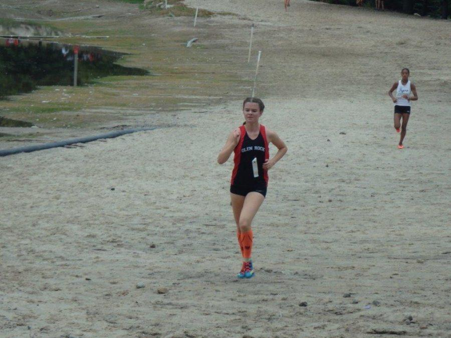 Alex Walter is the co-captain of the cross country team and has won four meets this season, including the League meet.