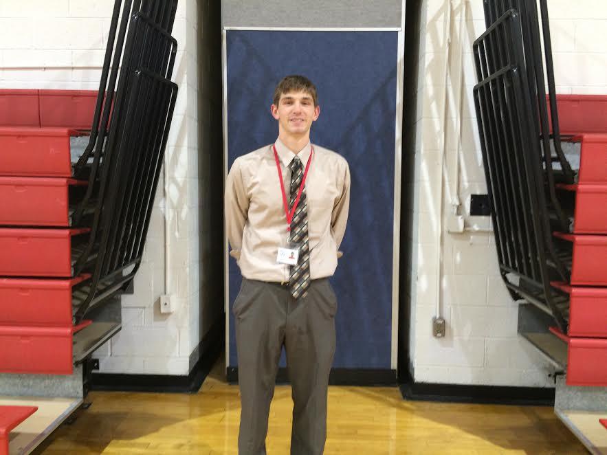 Mr. David Goldsholl returns to his former high school as a history teacher.
