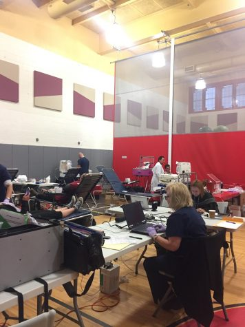 Annual blood drive increases donors