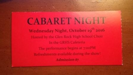 Students show talent at Cabaret Night