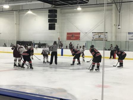 Don Bosco and Glen Rock face off in the Bergen County Tournament championship game. The game ended with a 6-1 loss. This was Don Bosco's sixth time winning the tournament.