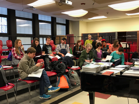 Rehearsals begin for upcoming musical