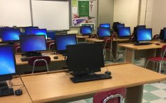 Computers in B-154 will be removed when the new one-to-one initiative is introduced.