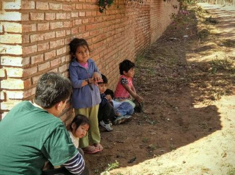 Junior aids Bolivian people over summer break