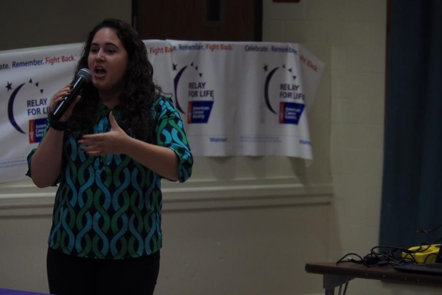 I really hope we can get more participants and raise more money, Amanda Sproviero, said.