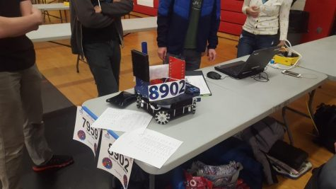 Robotics team takes eighth place