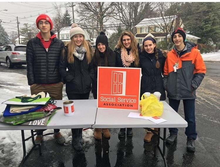 One of the ways the Key Club raises money is through donation stands like this one, which was set up outside of Kilroy's Market.