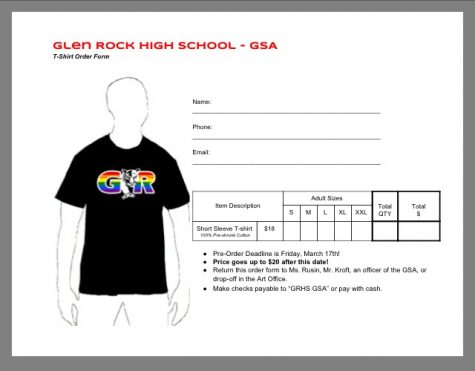 Gay Straight Alliance raises funds with t-shirt sales