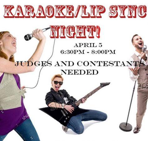 A LEAP of faith on karaoke night