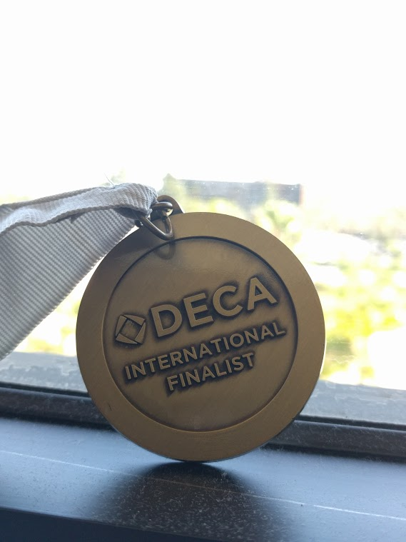 Junior Nick McRae won a silver medal at at the International Career Development Conference on April 13.