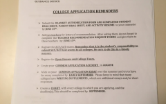 Juniors start college application process