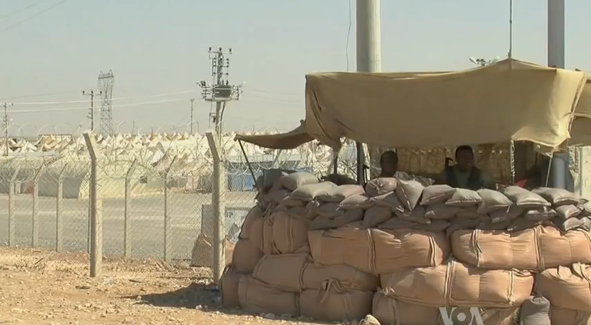 After fleeing from Aleppo, Syrian refugees found an uncomfortable safety in the arid desert on the Turkish border.