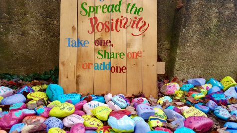 The Kindness Rock Garden can be found at 574 Doremus Ave. It was created with the purpose of spreading kind messages and positivity throughout Glen Rock.