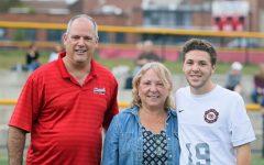 Boys recognized during soccer team's Senior Day