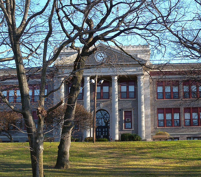 Many Cliffside Park High School students were angered by a comment  made by an English teacher about speaking American.