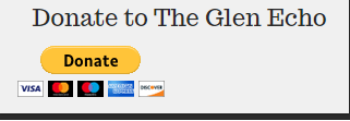 The donation button on the Glen Echo homepage. The site already has received a multitude of donations since its creation.