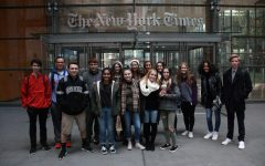 Student journalists visit The New York Times