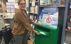 Rock Ridge Pharmacy installs drug recycle box