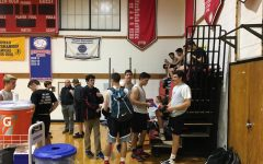 Boys basketball loses opening scrimmage
