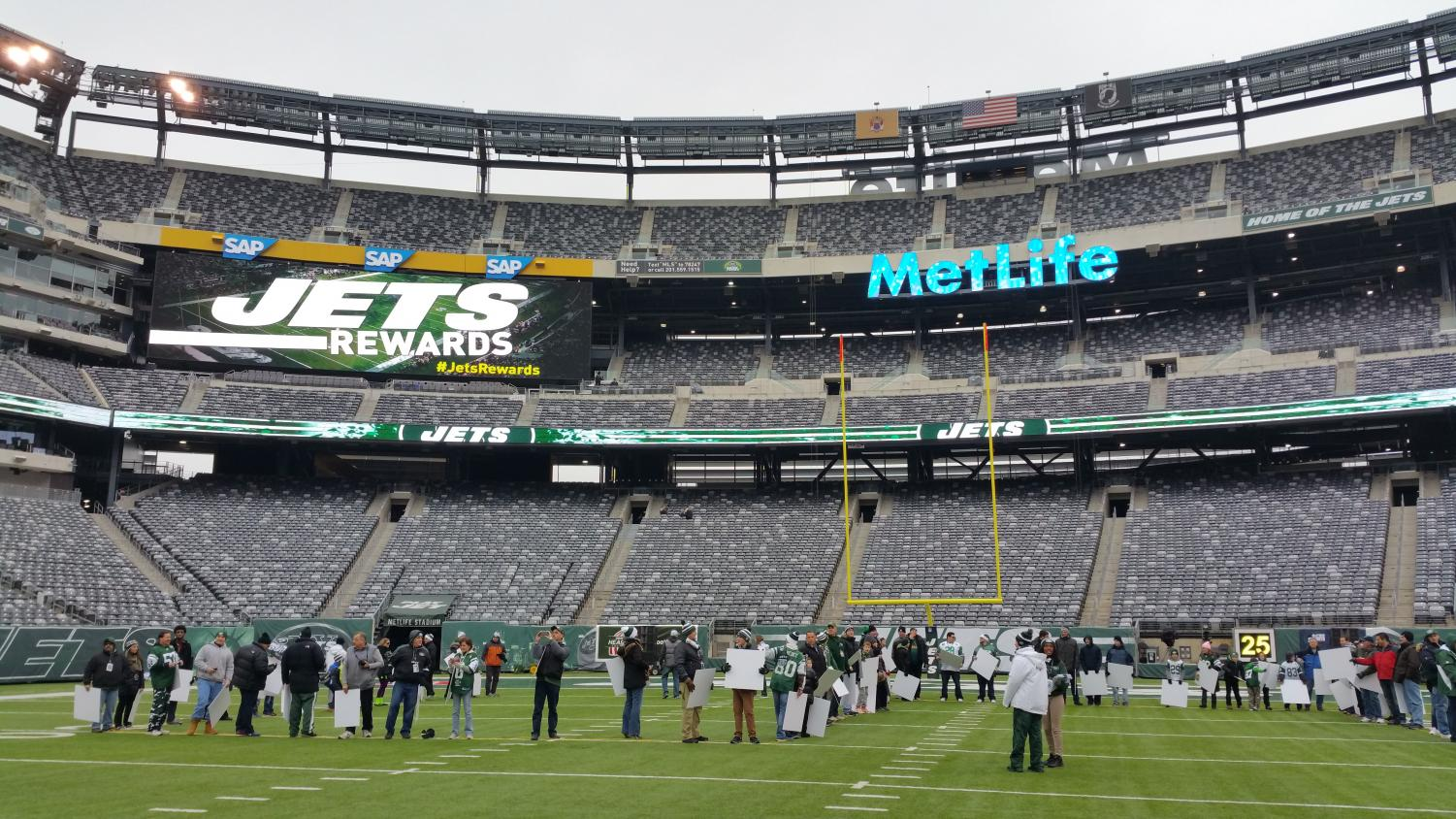 Despite fundraising efforts, no tickets were sold from the collaboration effort between the NY Jets and the Glen Rock HSA.