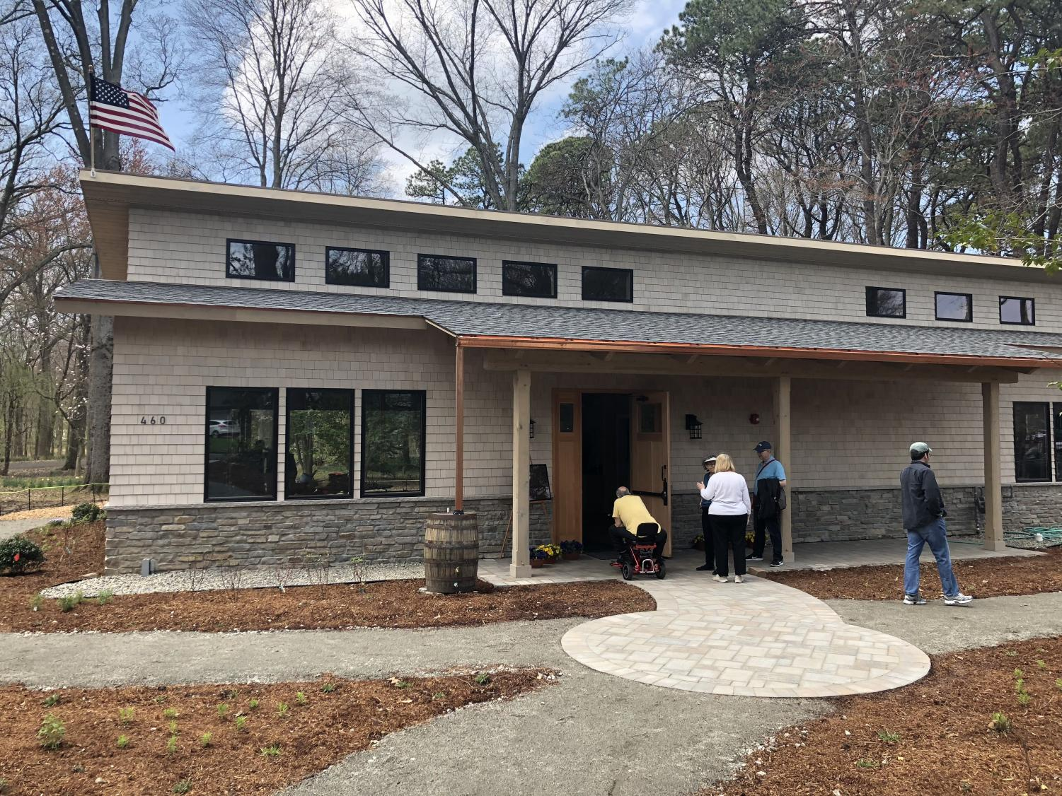 The Arboretum's new Environmental Education Center opens on Arbor Day after being in construction since September of 2017.